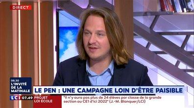Elections européennes : une campagne loin d'être paisible pour Marine Le Pen