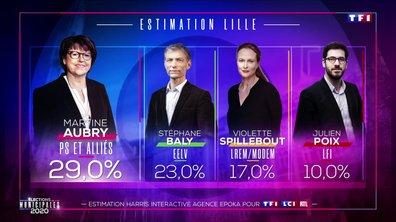 Élections municipales 2020 : Martine Aubry arrive en tête à Lille