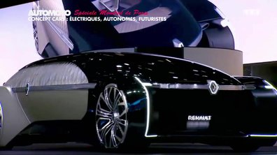Mondial de l'Auto - Concept cars : Electriques, autonomes et futuristes