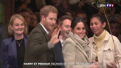 Elizabeth II convoque une réunion de crise après Ia mise en retrait de Harry et Meghan