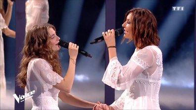 La robe blanche de Zazie, porte-bonheur de Maëlle ! (VIDEO)
