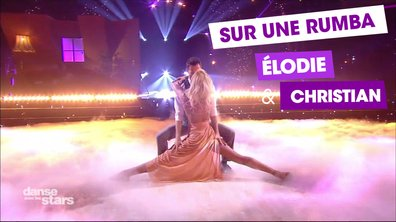 Sur une Rumba, Elodie Gossuin et Christian Millette (Bridget Jones)