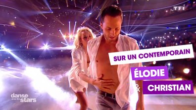 Sur un Contemporain, Elodie Gossuin et Christian Millette (Coldplay)