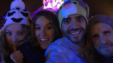 """Elodie Fontan : son jour de l'an féerique à Disneyland Paris avec le casting de """"Babysitting 2"""""""