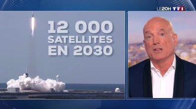 Elon Musk prévoit d'envoyer 12 000 satellites dans l'espace