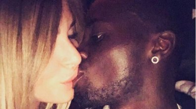 Emilie Fiorelli et M'Baye Niang échangent un baiser torride pour la Saint Valentin