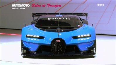 Les voitures de rêve et de luxe du Salon de Francfort 2015