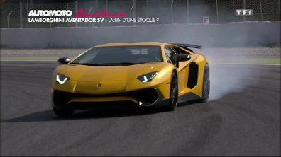 Grand Format : La Lamborghini Aventador LP 750-4 SuperVeloce