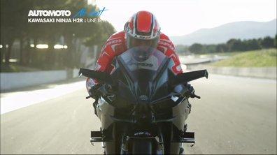 No Limit : Kawasaki Ninja H2R, une bête de course à 357 km/h !