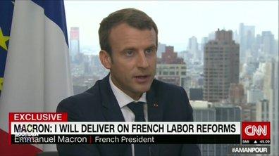 Valentine Oberti décrypte l'interview de Macron sur CNN