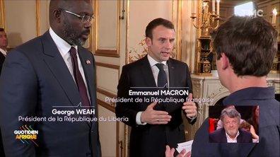 """Emmanuel Macron à la jeunesse : """"Votre avenir ne se fera pas sans l'Afrique"""""""