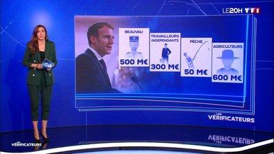 """Emmanuel Macron a-t-il vraiment """"dépensé entre 5 et 7 milliards d'euros en quinze jours"""" ?"""