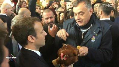 La poule d'Emmanuel Macron a rejoint Nemo à l'Élysée