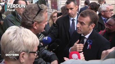 Macron aime se battre