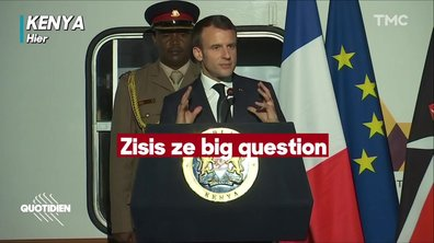 Emmanuel Macron and ze very good accent