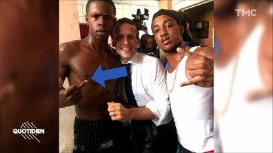 Emmanuel Macron : le doigt d'honneur du scandale