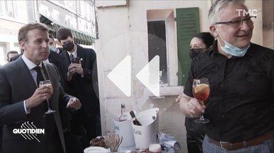 Emmanuel Macron et le falafel de l'angoisse