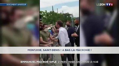 Emmanuel Macron giflé dans la Drôme : ce que l'on sait de son agression