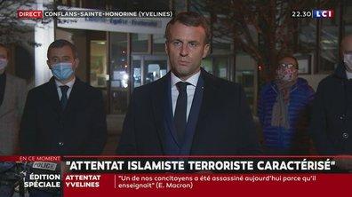 "Emmanuel Macron : ""Ils ne passeront pas"""