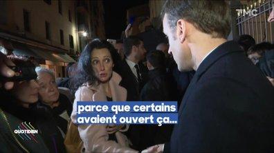 Emmanuel Macron interpellé par la femme d'Yvan Colonna