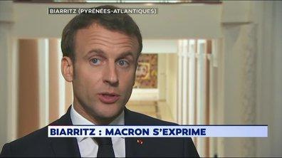 """Emmanuel Macron : """"Je compte m'impliquer"""" dans la campagne"""