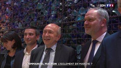 Emmanuel Macron : l'isolement en marche ?
