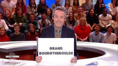 Emmanuel Macron lance le grand début du grand débat dans le Grand Bourgtheroulde