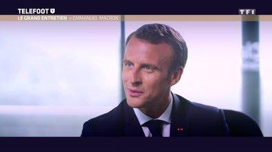 [Exclu Téléfoot 10/06] - Macron, sa passion pour le foot remonte à l'enfance