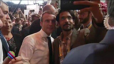 Le fait du jour : Emmanuel Macron prend son bain de foule au Viva Technology