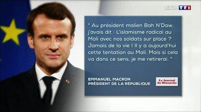 Emmanuel Macron réagit face au coup d'Etat au Mali