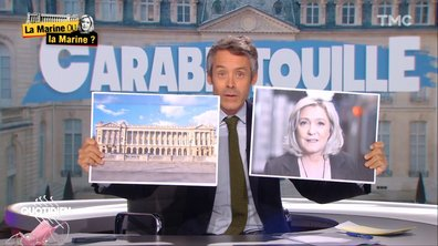 Emmanuel Macron sur la Concorde : une Marine peut en cacher une autre