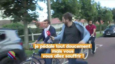 Emmanuel Macron en week-end au Touquet se fait bien désirer