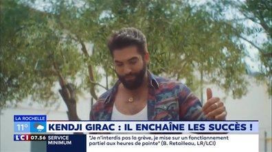 """""""Emmenez-Moi"""" : Kendji Girac, il enchaîne les succès !"""