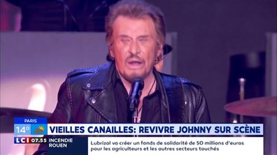 """""""Emmenez-Moi"""" : Vieilles Canailles, revivre Johnny sur scène"""