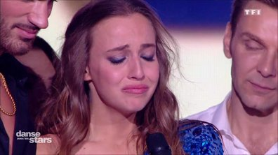Emotion : Carla Ginola ne peut retenir ses larmes