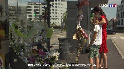 Emotion toujours aussi vive à Bayonne une semaine après l'agression mortelle d'un conducteur de bus
