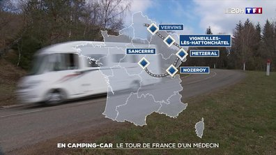 En camping-car : le tour de France d'un médecin