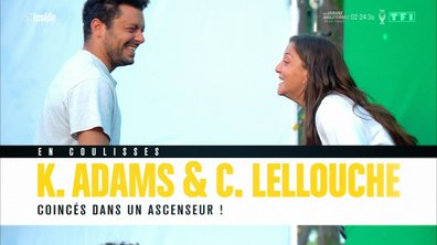 """En coulisses avec Kev Adams et Camille Lellouche pour leur film """"Stuck"""""""