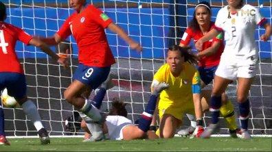 USA - Chili (1 - 0) : Voir la nouvelle parade d'Endler en vidéo