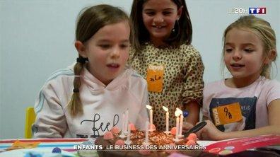 Enfants : le business des anniversaires