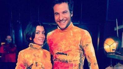 Jenifer et Amir, des retrouvailles très colorées