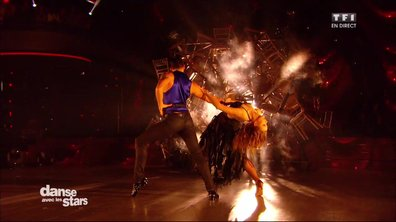 Un Paso Doble pour Enjoy Phoenix et Christophe Licata sur « Let's dance » (David Bowie)