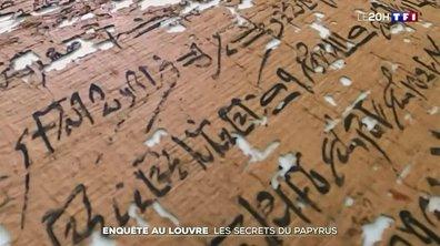 Enquête au Louvre : les secrets du papyrus