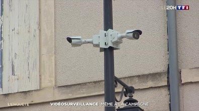 Enquête : de la vidéosurveillance même à la campagne