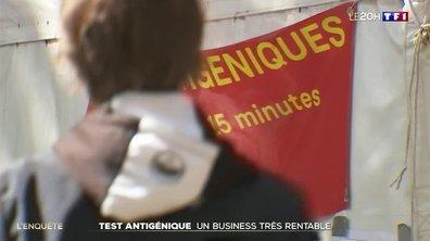 Enquête : les tests antigéniques, tout un business