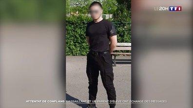 Enquête sur l'assassinat de Samuel Paty : l'assaillant et un parent d'élève ont échangé des messages