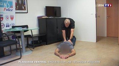 Enquête sur le plaquage ventral : une technique policière remise en question