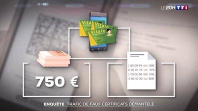 Enquête : trafic de faux certificats démantelé en Isère