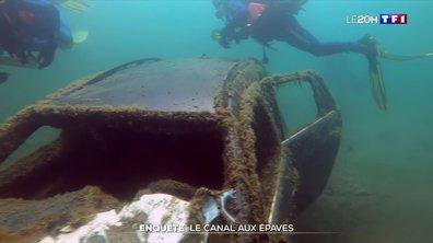 Enquête : un cimetière sous-marin de voitures volées dans un canal près de Marseille