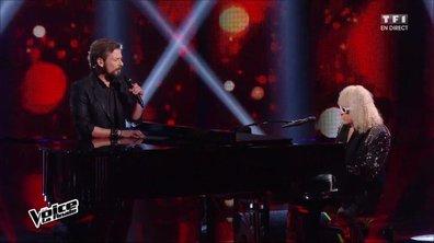 Ensemble, Clément et Michel Polnareff chantent en direct « L'homme en rouge » pour la finale (Saison 05)